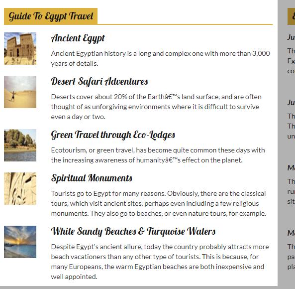Comprehensive Tourism Portal