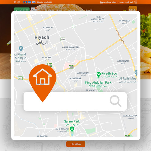 Location Based, The Nearest Food to Your Home